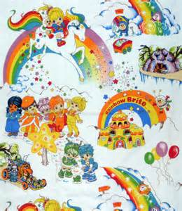 Rainbow Duvet Cover Reserved For Nosa Nosa Rainbow Brite Duvet Cover Sheet Fabric