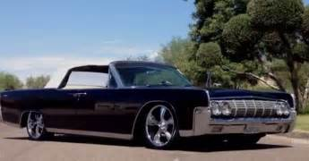 black 1964 lincoln continental classic american cars