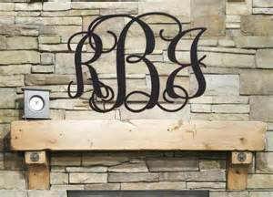 Initial Wall Decor by Initial Monogram Wall Decor Wooden Monogram Wall Hanging