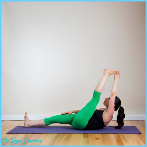 Reclining Hand To Big Toe Pose Yoga 16 All Yoga