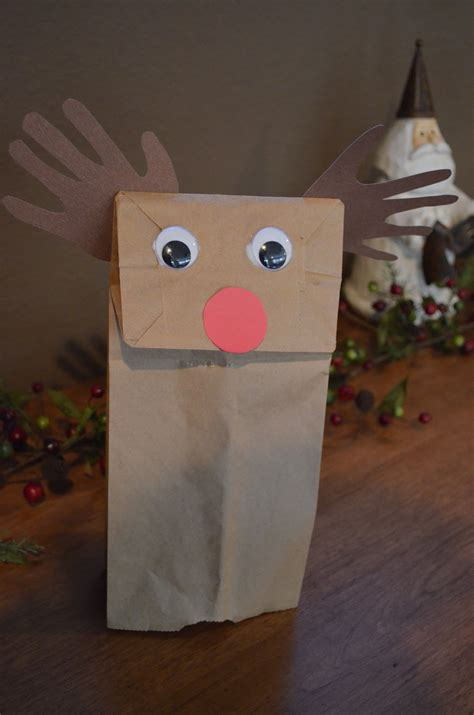 brown paper bag pattern 13 cute yet simple paper bag reindeer guide patterns