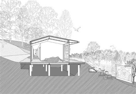 hill design concept architecture residential design of hill hut in stockholm