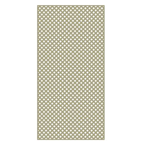 shop barrette wood tone privacy vinyl lattice common 0 2