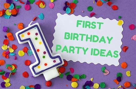 birthday themes uk 1st birthday party ideas goodtoknow