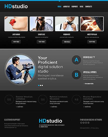 joomla org templates photography joomla template website templates