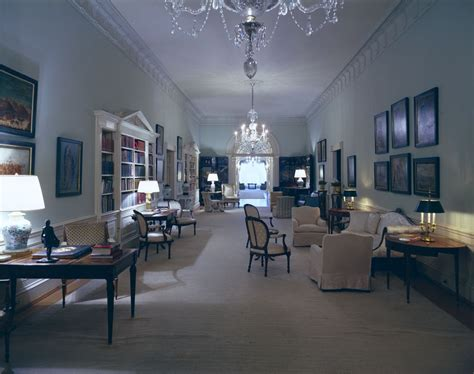 white house second floor white house rooms second floor center hall john f kennedy presidential library