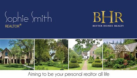 better homes realty business cards unique better homes