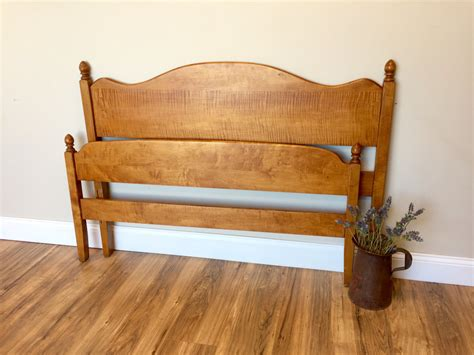 wooden bed headboard three quarter bed curly maple wooden bed small