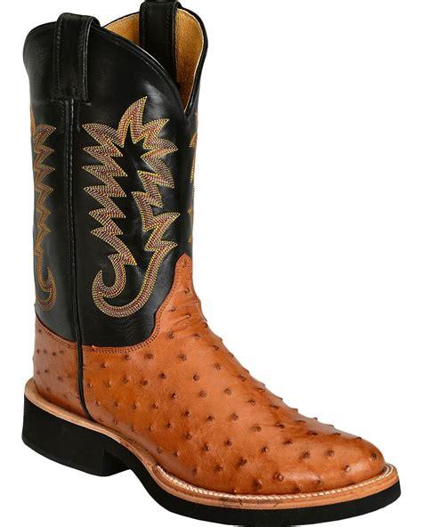 ostrich boots justin s quill ostrich cowboy boot 5031 ebay