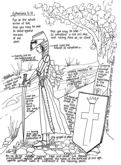 armor of god coloring pages bible printables coloring armor of god bible az coloring pages
