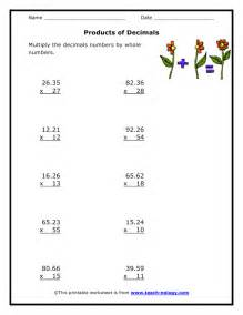 ideas about 5th grade math worksheets multiplying decimals