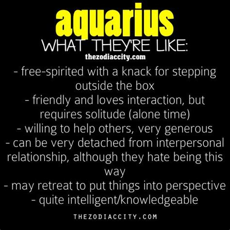 25 best ideas about aquarius personality on pinterest