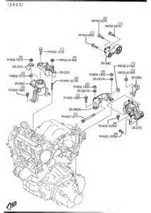 2003 2004 2005 2006 2007 2008 mazda6 engine mount rear right oem new ebay