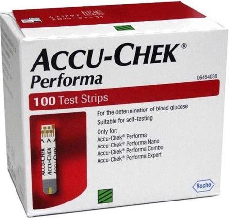 Glucometer Accu Chek Performa accu chek 100 glucometer strips price in india buy accu chek 100 glucometer strips at