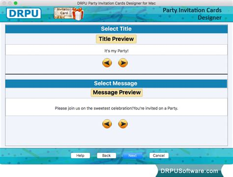 free invitation design software for mac freeware invitation card maker software for mac by