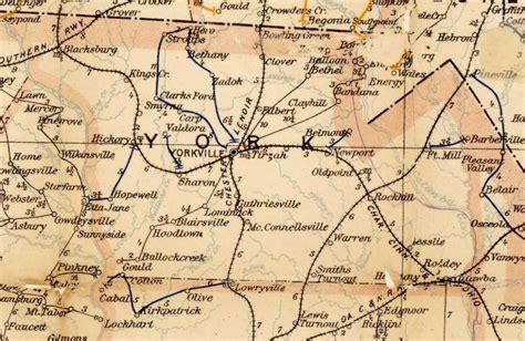 map of york county sc 224 east black historic mccosh house york county