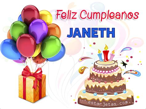 imagenes de cumpleaños janeth feliz cumplea 241 os janeth im 225 genes de cumplea 241 os