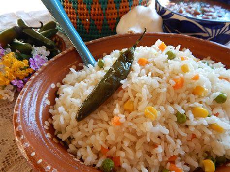 arroz blanco cocinar arroz blanco mexicano receta de arroz blanco de jauja