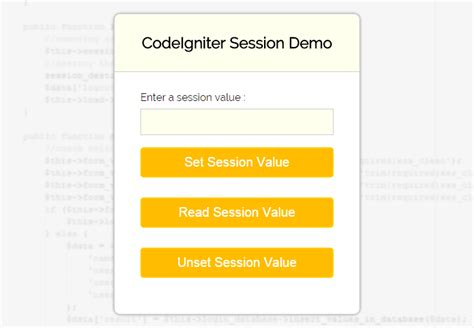 ci session tutorial session in codeigniter formget