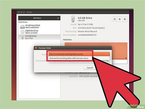 format fat32 usb ubuntu c 243 mo formatear una unidad flash usb en ubuntu 19 pasos