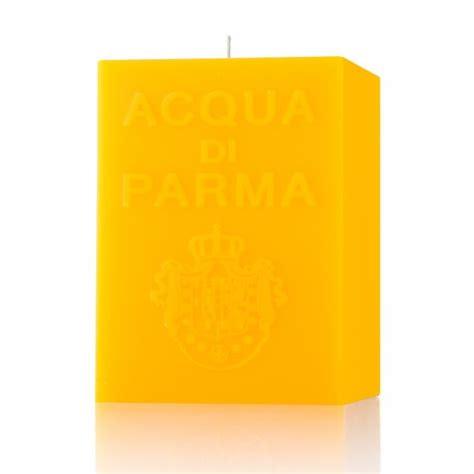 candele acqua di parma acqua di parma cube candle yellow colonia gents