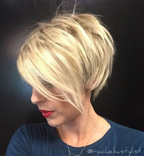 short blonde layered haircut pictures 25 best ideas about pixie bob hairstyles on pinterest