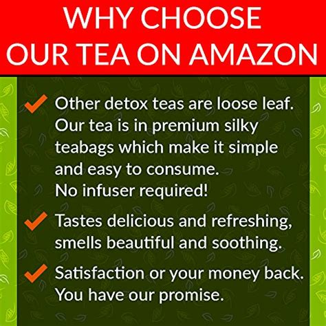 Our Detox Promise by Nature Ace 28 Day Detox Tea Best For Teatox