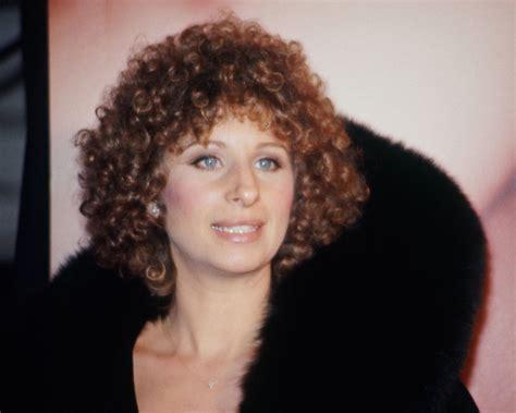 perms 1970s barbra streisand candid 1970 s perm hair portrait 8x10