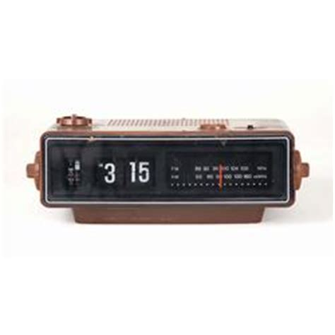 """iconic prop flip number alarm clock showing """"3:15am"""" from"""