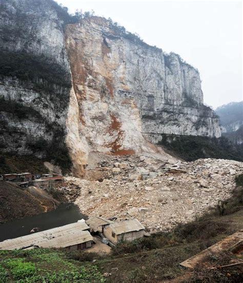 derrumbe de la segunda derrumbe de monta 241 a entierra a 5 personas en el suroeste de china el rastreador de noticias