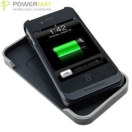 apple wireless charger powermat wireless charging solution for apple iphone 4