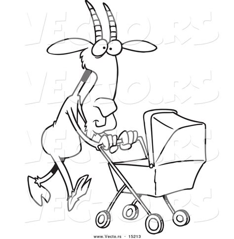 nanny goat coloring page pics for gt nanny goat clipart