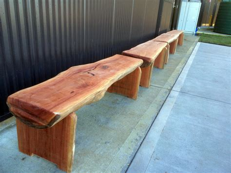 wood bench seat bench seats bloodwood timber timber furniture sydney