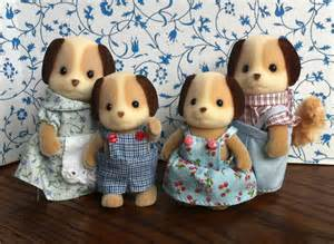 Children Kitchen Accessories - teddy bears amp friends jp sylvanian families beagle dog family of 4