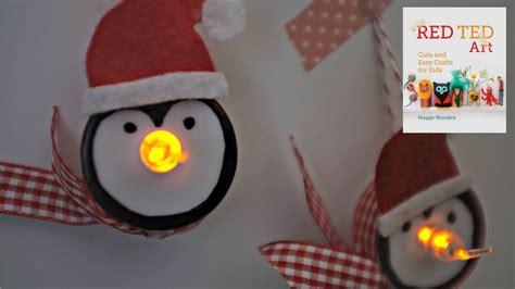 craft lights crafts tea light penguin ornaments for