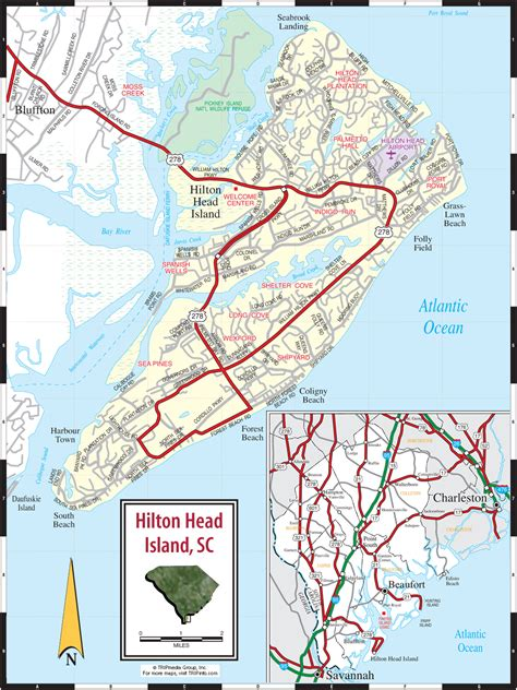 printable road map of sc hilton head island sc pictures posters news and videos