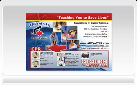 cpr business cards templates business cards pronto abc s of cpr