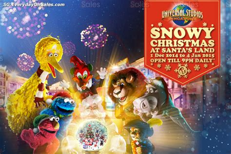 universal gifts for christmas universal studios singapore snowy santa s land