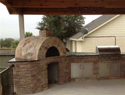 Outdoor Kitchens San Antonio Tx by San Antonio Outdoor Kitchen With Pizza Oven Yelp