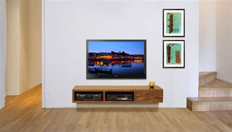 Home Decor Blogs Shabby Chic by Floating Tv Console Woodwaves