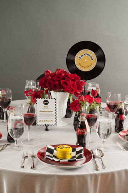 50 s table decorations 25 best ideas about 50s wedding themes on 50s wedding 1950s wedding themes and