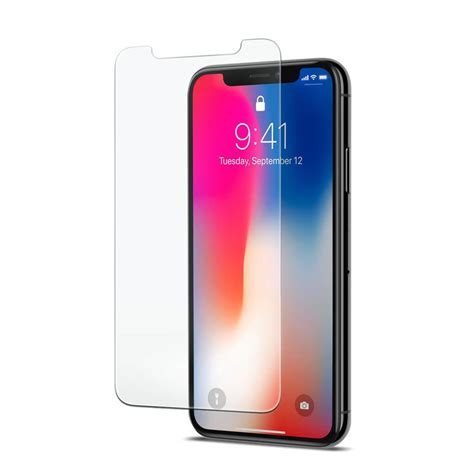 Iphone X Premium spigen 174 glas tr slim iphone x premium tempered glass