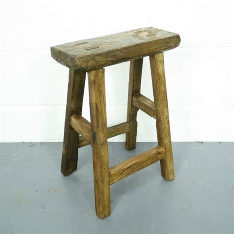 Rustic Stools Rustic Wooden Stool W64 Lovely And Company