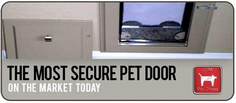 Secure Doggie Door by The Most Secure Pet Door Fozzie