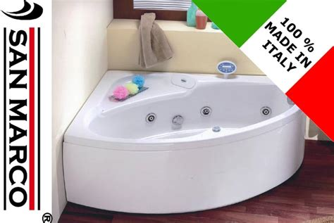 vasca da bagno angolare misure vasca da bagno non idromassaggio ad angolo 150x100 cm