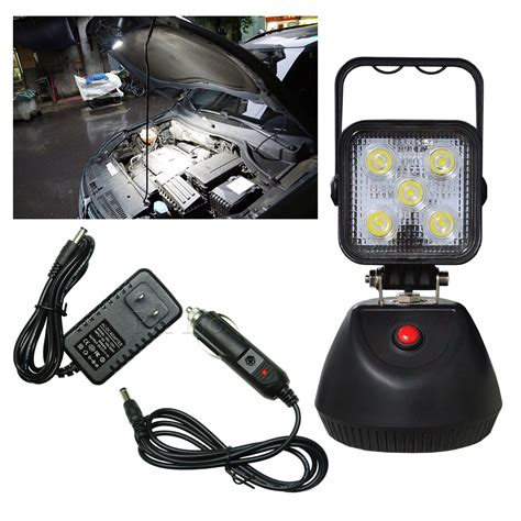 rechargeable led work light with magnetic base 1 pcs bright led work light portable rechargeable