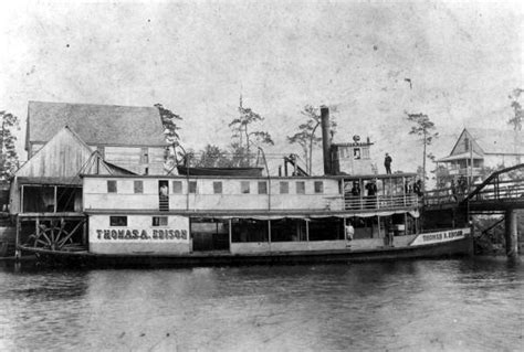steam boat delivery the steamboat thomas a edison pine island info
