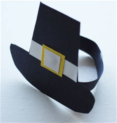 How To Make A Pilgrim Hat Out Of Paper - make pilgrim bonnets and hats freshplans