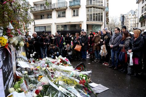 charlie hebdo attacks paris rally as it happened 11 his office now a crime scene journalist pieces together