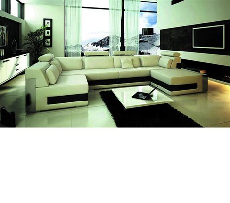 bonded leather sectional sofa dreamfurniture com 1101 modern bonded leather